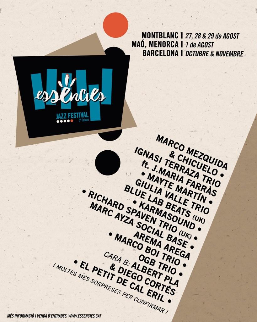FESTIVAL DE JAZZ ESSÈNCIES, 5ª EDICIÓ