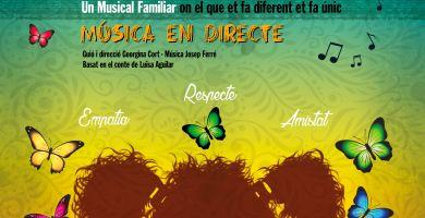 """TEATRE MUSICAL : """"ORELLES DE PAPALLONA"""""""