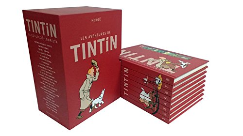 Amb aquesta edició de 8 llibres de luxe, TINTÍN BOX , amb motiu del 60 aniversari  a casa nostra, GAUDIRÀS DE TOTA LA COL·LECCIÓ DE TINTÍN
