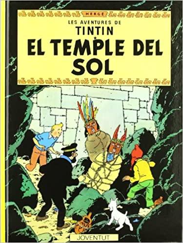 EL TEMPLE DEL SOL  Hergé va desenvolupar la idea d'un arc de doble història. Resultant en les dues parts Les set boles de cristall i EL TEMPLE DEL SOL .