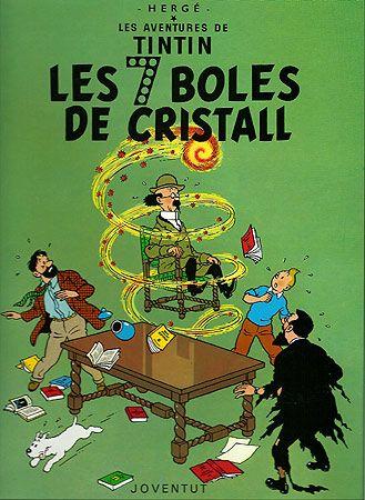 Les Set Boles de Cristall van començar la serialització enmig de l'ocupació alemanya de Bèlgica a la Segona Guerra Mundial