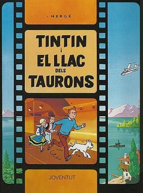 Tintín i el llac dels taurons és cronològicament el 24è àlbum de la sèrie de Tintín. Tot i que a vegades no se'l considera un àlbum oficial, en ser l'únic no escrit per Hergé