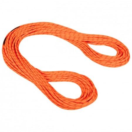 8.0 Alpine Dry Rope és una mitja corda que, gràcies al seu tractament d'impermeabilització  es pot usar per a escalada i escalada en gel.