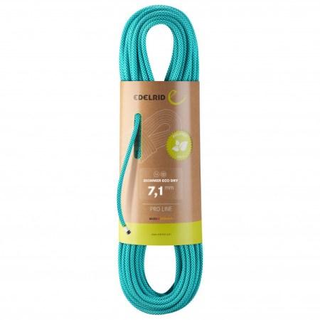 Skimmer Eco Dry 7.1 - Corda doble de EDELRID