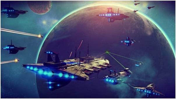 No Man's Sky - Space Battle