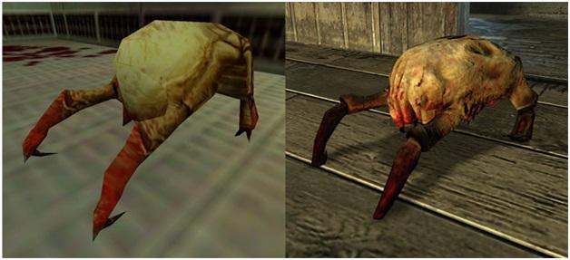 Headcrabs from Half-Life