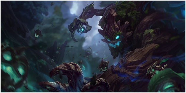 Maokai on league of legends
