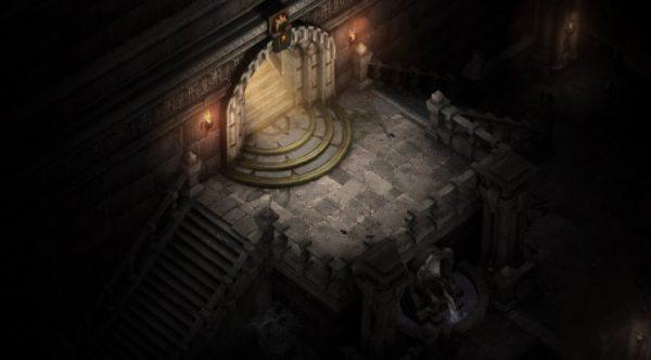Diablo 1 dungeon in Diablo 3