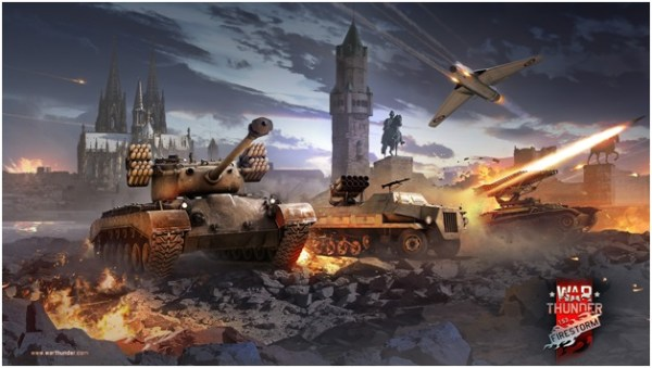 War-thunder on gaming laptop