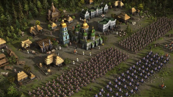 Cossack 3 gameplay screenshot