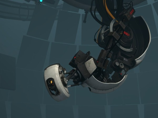 Glados screenshot form Portal
