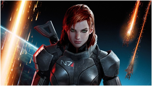 Commander Shepard of Mass Effect