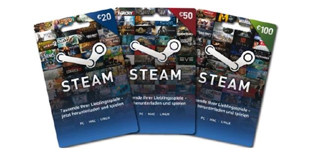 Steam Cards