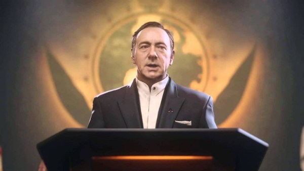 Kevin Spacey Cameo in Infinite Warfare