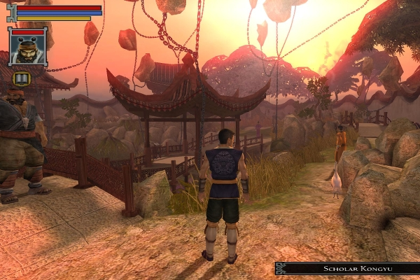 Jade Empire gamplay screenshot