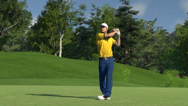 Screenshot of the Golf Club.