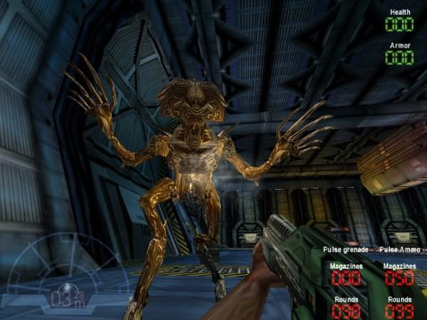 Aliens versus Predator (1999) gameplay screenshot