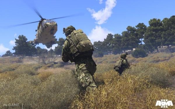 Arma III gameplay screenshot
