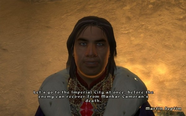 Martin Septim in the Elder Scrolls IV