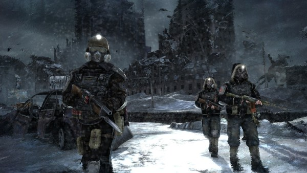 Metro 2033 Soldiers in the Snow