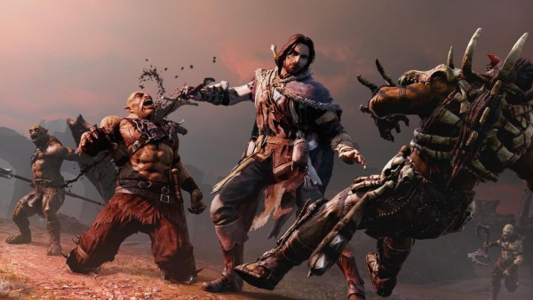 Middle-Earth Shadow of Mordor gameplay screenshot