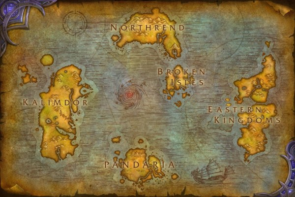 Legion World Map