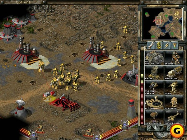 Command & Conquer gameplay screenshot