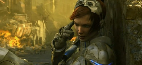 Screenshot from StarCraft 2