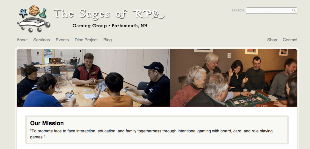 The Sages of RPG Launches New Website!
