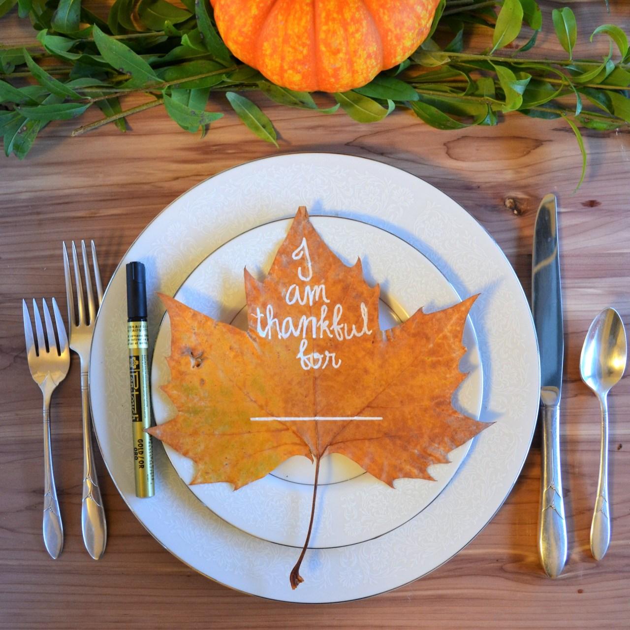 DIY Thanksgiving Table Décor