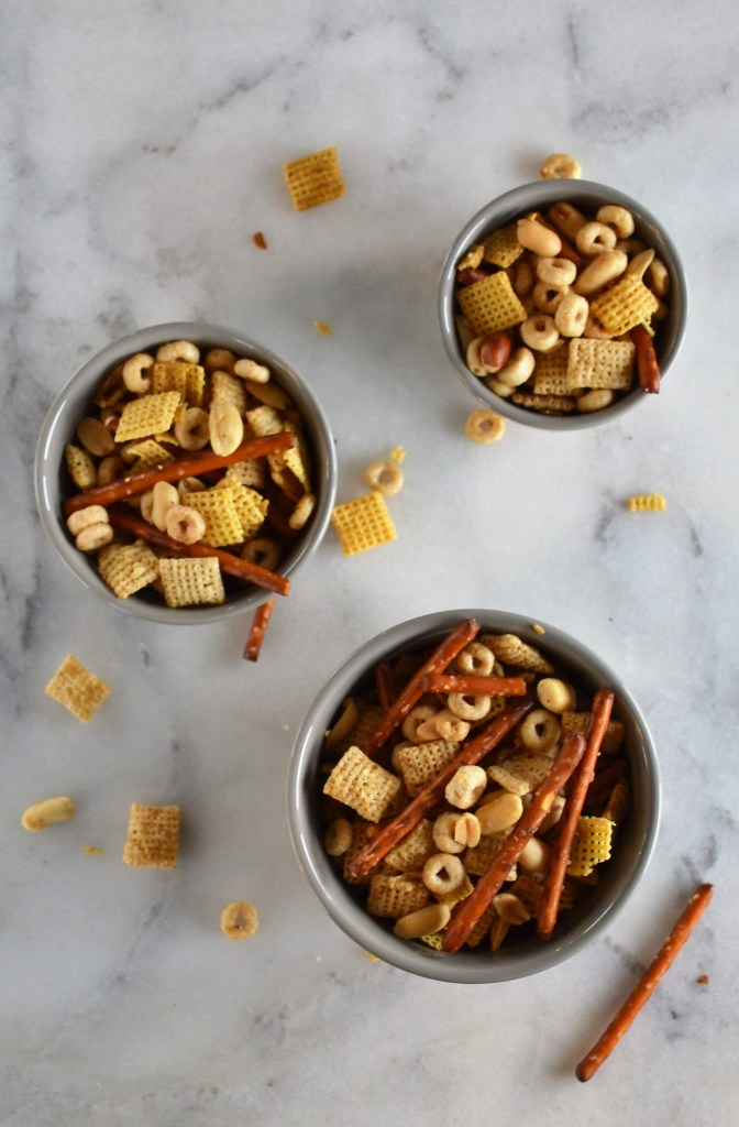 Nuts n' Bolts Party Mix | Sage to Silver | Party Mix recipe | Party Recipe | Chex Mix Recipe
