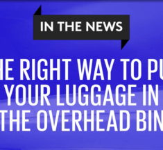 The Right Way To Put Your Luggage In The Overhead Bin – Flight Attendant