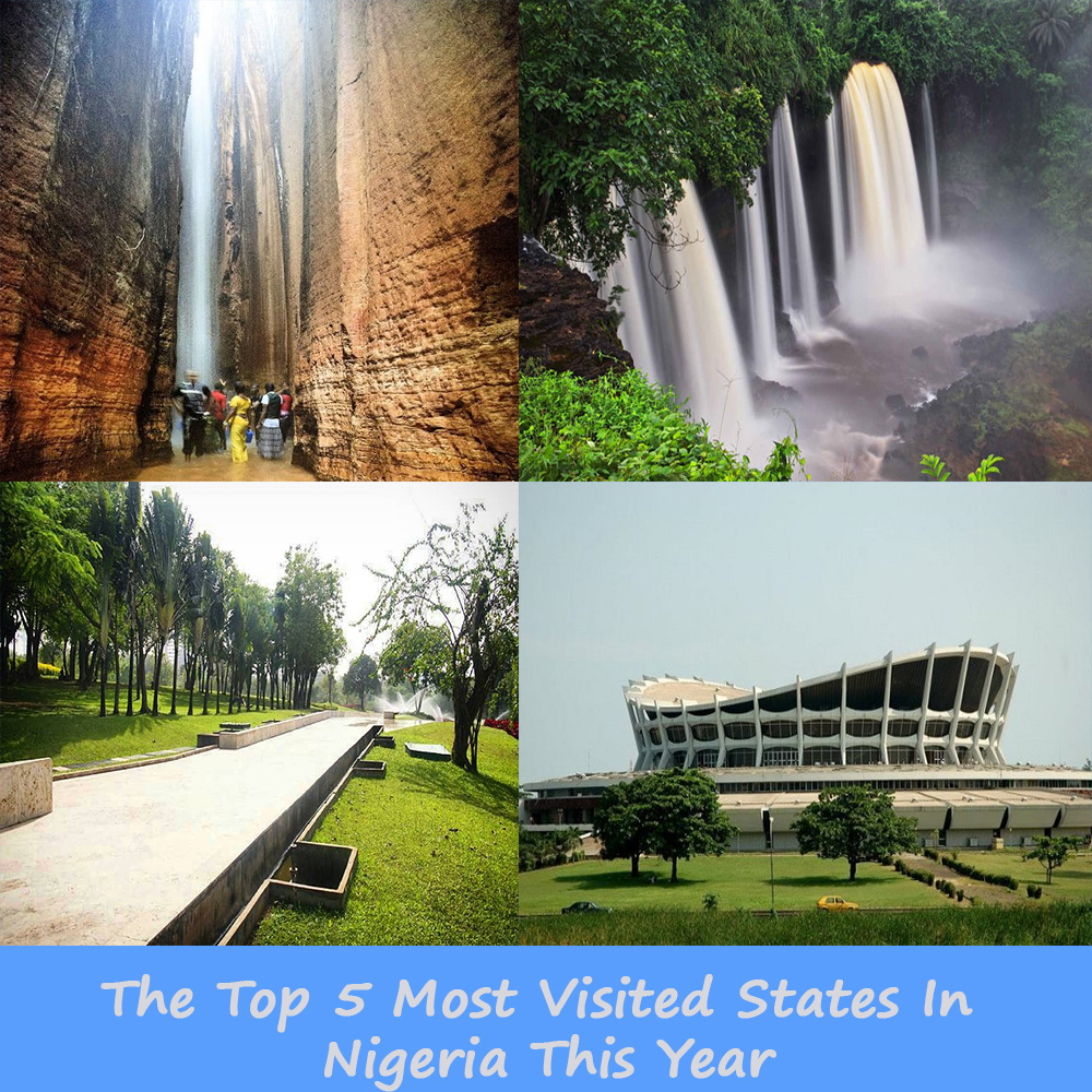 The Top 5 Most Visited States In Nigeria This Year