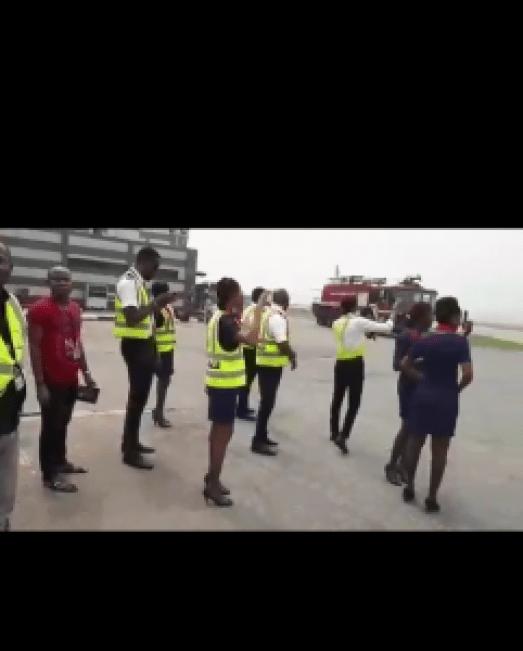 Air Peace Celebrates Captain Godfrey Ogbogu 40 years Of flying Airplane