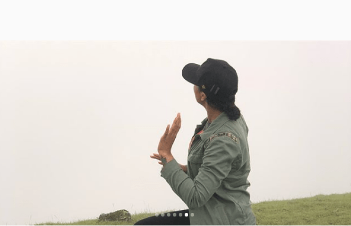 Tboss Idowu Encounters God On The Holy Mountain, Obudu Mountain Resort (Video)