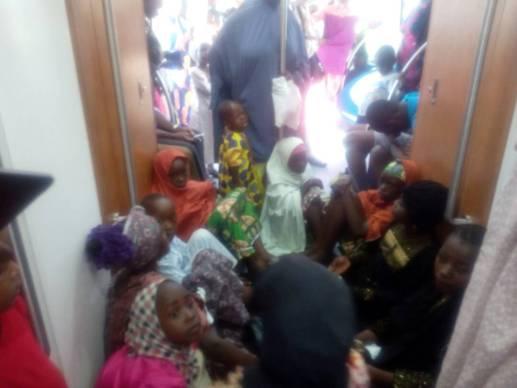 Free Train Ride: See Massive Crowd at Abuja Metro Station
