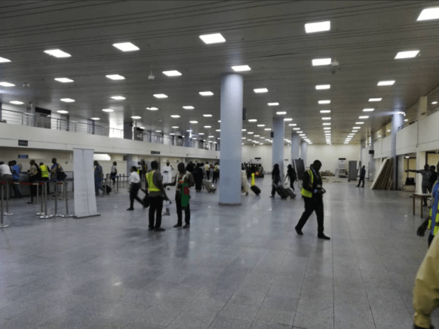 Photos of The Completed Terminal D of the Airport, Abuja