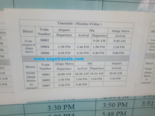 Abuja Train: Experience, Ticket Cost, Time And Direction