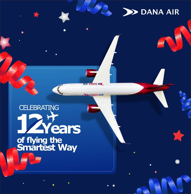 Dana Air Celebrates 12th Anniversary