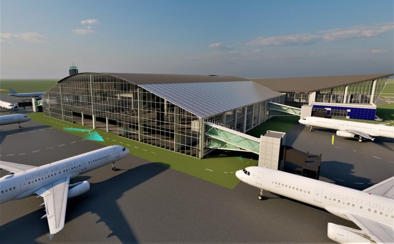 Prototype Of The Ongoing Ebonyi International Airport