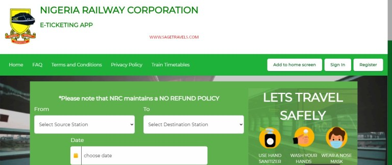 How To Book Abuja to Kaduna Train Online