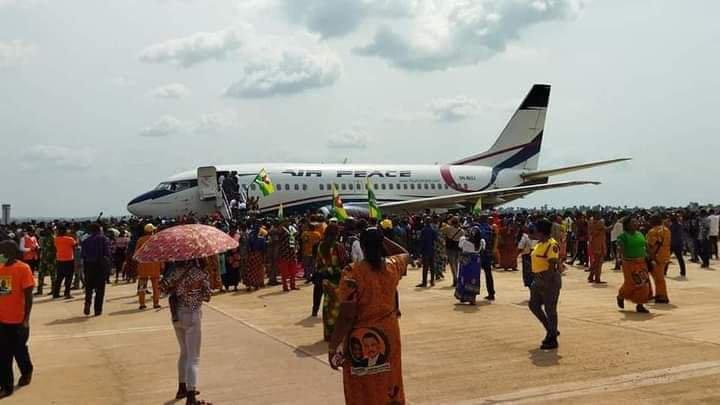 Air Peace Touchdown Anambra Airport