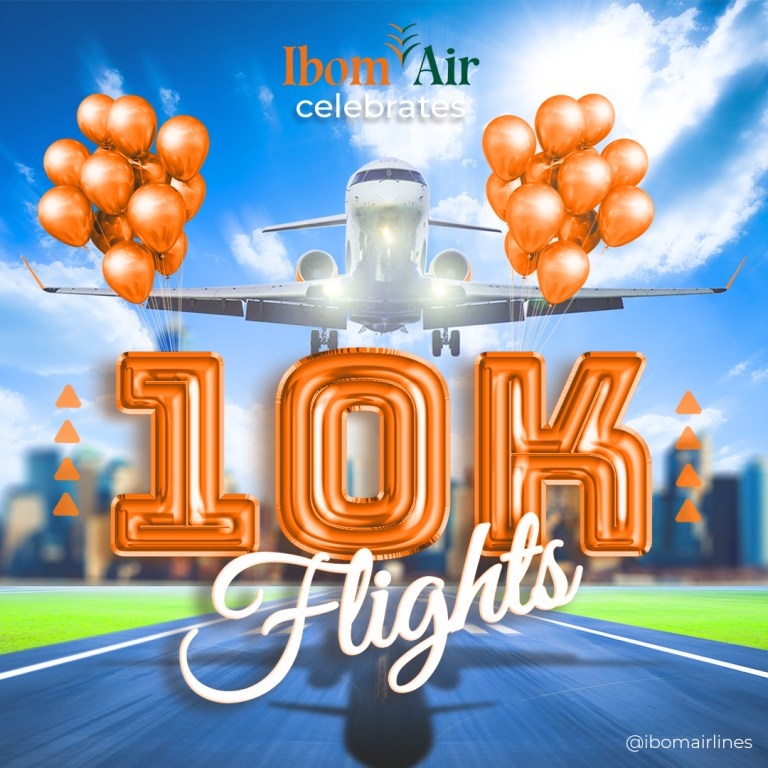 Ibom Air Celebrates 10,000th Domestic Flights