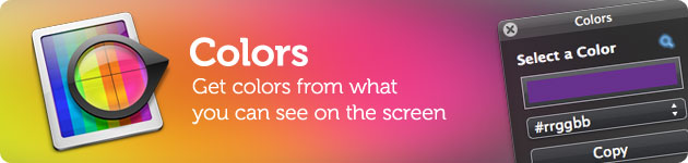 colors colorpicker from screen, cattura il colore che vuoi e trasformalo per il web