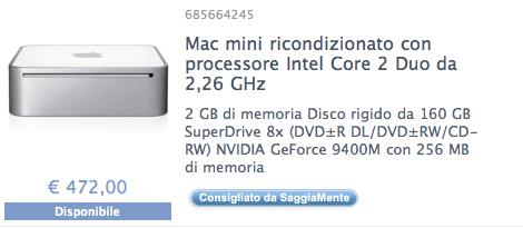 mac mini in offerta