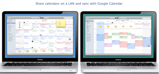 sincronizzare calendari sul mac con ical pro
