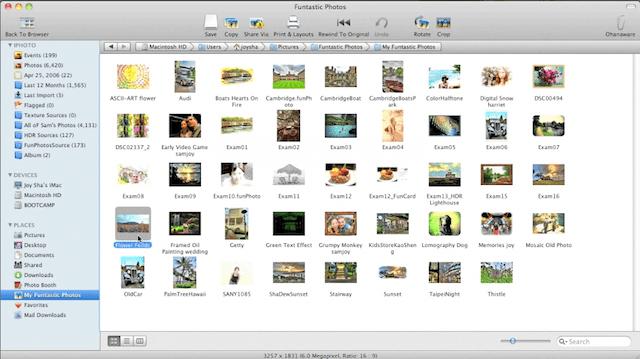 browser immagini mac