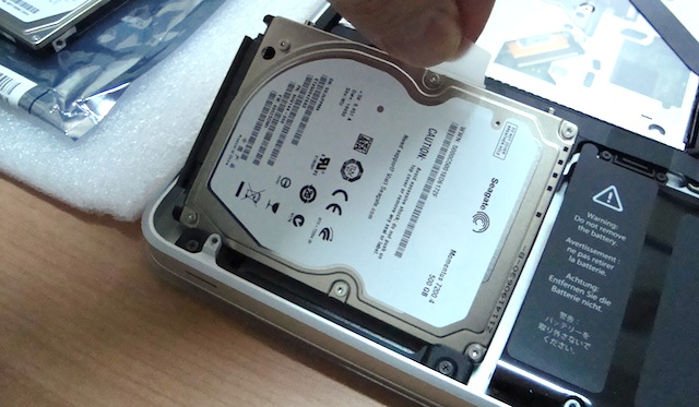 sostituire hard disk macbook