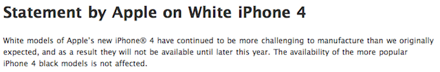 disponibilità iphone 4 bianco in italia