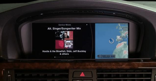 iphone in auto con bmw e mini ed ipod out